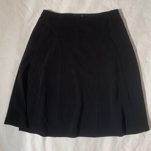 """Ellen Tracy black flare skirt size 12 length 25"""""""